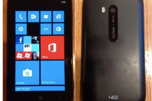 Leak: Nokia Lumia 822 live photo, Verizon and 4G LTE branding.