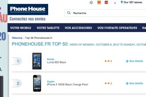 Nokia Lumia 920 tops PhoneHouse, France's top 50 list – (pre-order available, wallpapered everywhere)