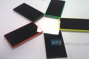 Leaked: Nokia Lumia 830? More rainbow lumias.