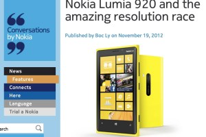 NokConv:  Nokia Lumia 920 and the amazing resolution race