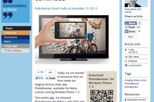 NokConv: The magic picture show continues! PhotoBeamer is now available for Lumia 900, Lumia 800 and Lumia 710