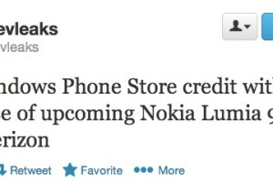 Nokia Lumia 928 from Verizon coming with $25 WP store credit