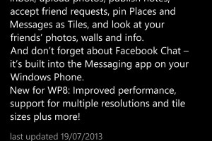 Facebook gets another update for Nokia Lumia (v5.0.3.0) be more antisocial with unfriend and unlike!
