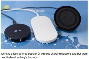AndroidCentral prefers Nokia design when it comes to Wireless chargers