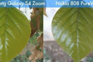 Nokia 808 PureView vs Samsung Galaxy S4 Zoom 'comparison'