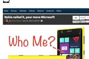 PocketNow: Nokia Nailed it with the Nokia Lumia 1020 – rest is up to you, Microsoft
