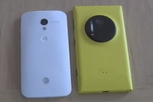 "PureView vs ClearPixel: Nokia Lumia 1020 vs Moto X ""Lumia 1020 wins this hands down"""