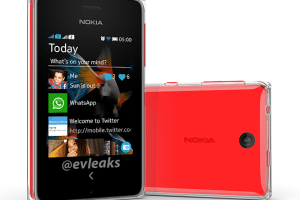 LeakyLeak: Asha 500; Dual Shot with Capacitive Buttons