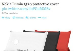 LeakyLeak: Nokia Lumia 1520 protective case and stand cover.