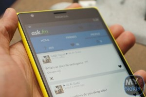 Ask.FM Comes to WP Via Unofficial Client