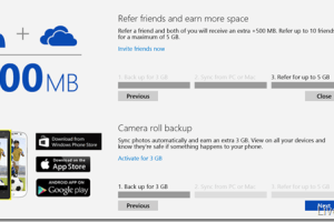 Microsoft's OneDrive to Feature Referral and Camera Roll Upload Bonuses