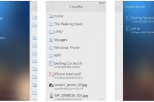 Video: Rudy Huyn's CloudSix, DropBox app. Next up: OneDrive, Mega, Google Drive and Box