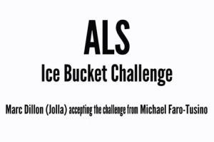 Jolla's Marc Dillon Accepts My Ice Bucket Challenge