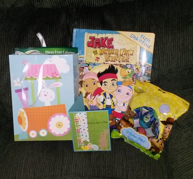 Kaleb Easter goodies 2014