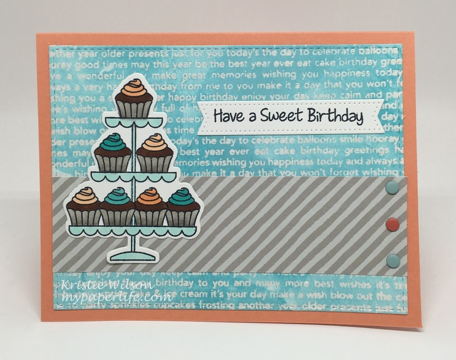 2016 Card 47 - MFT BB Sweet Birthday Wishes