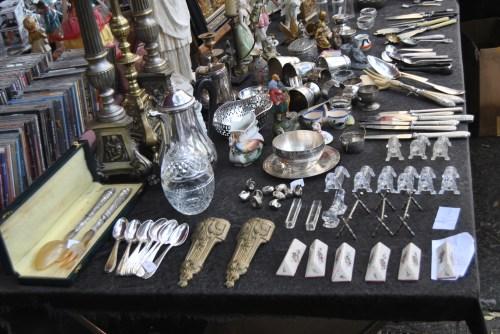 vintage spoons paris flee market