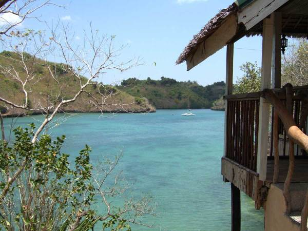 Quiet Baras Resort offers pretty cottages spaced for good privacy away from the hustle and bustle of Alubihod.