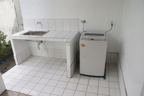 Tiling in laundry