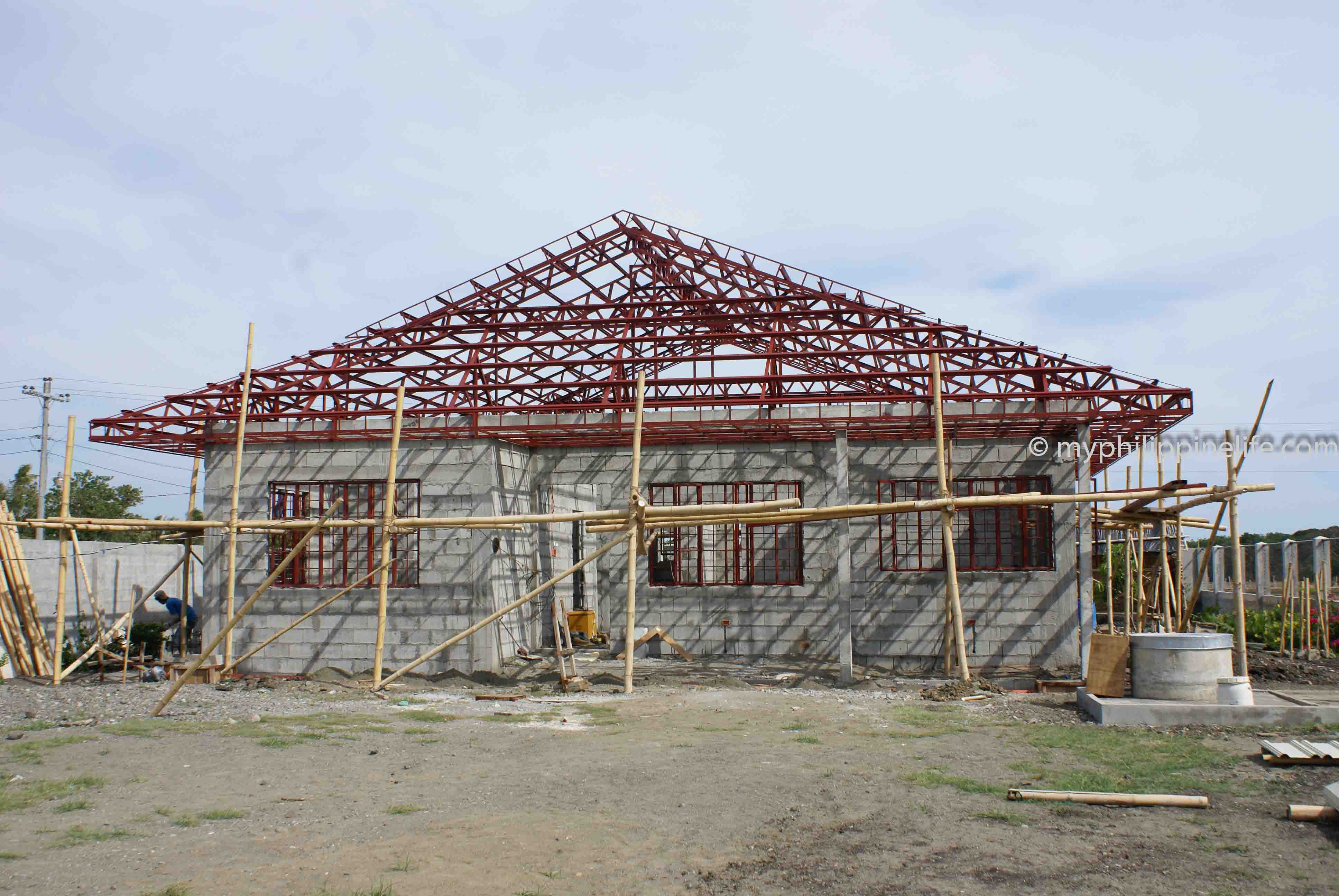 Our philippine house project roof and roofing my for House builder