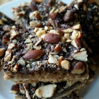 Chocolate and Oats Graham Bars - October Cookie and Dessert Share-fest