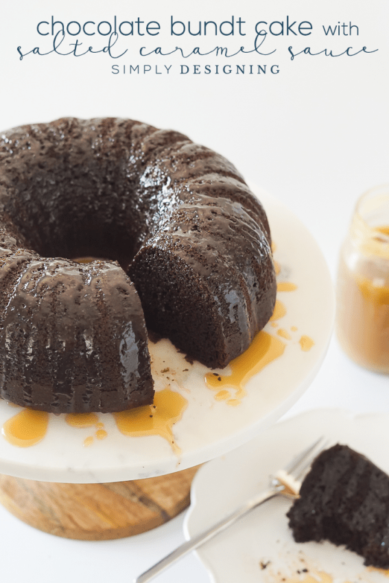 Homemade-Chocolate-Bundt-Cake-with-Salted-Caramel-Sauce-Recipe