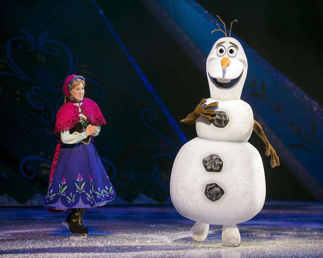 New Disney on Ice Tour features Frozen