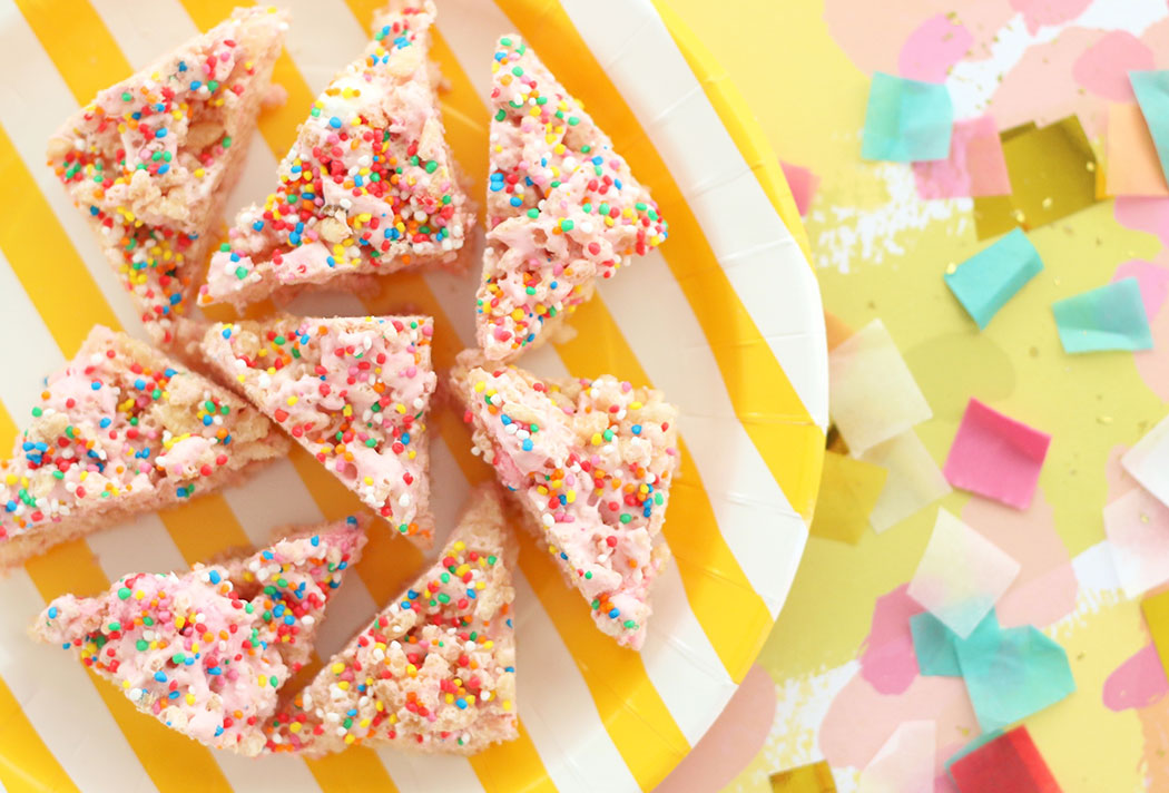 Fairy Bread Puffed Rice Party Treats – Allergy Friendly