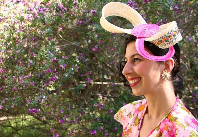 DIY Spring Racing Carnival Headpiece