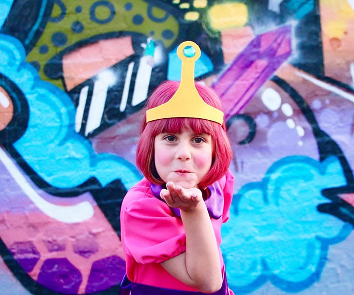 DIY Princess Bubblegum Crown