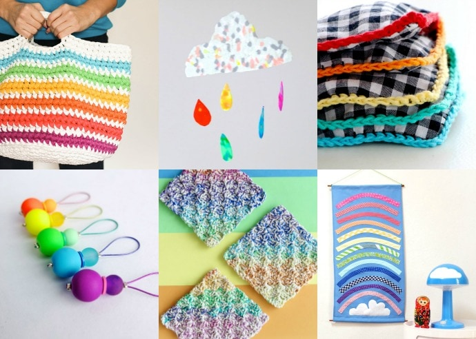 6 Colourful Rainbow Crafts to Bead, Sew & Crochet