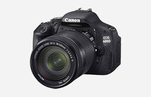 Canon EOS 600D/Rebel T3i Digital SLR Camera