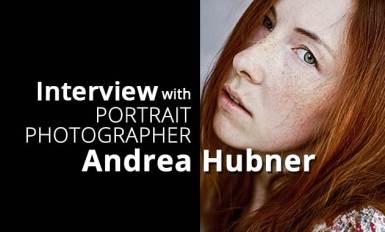 Interview with Portrait Photographer Andrea Hubner