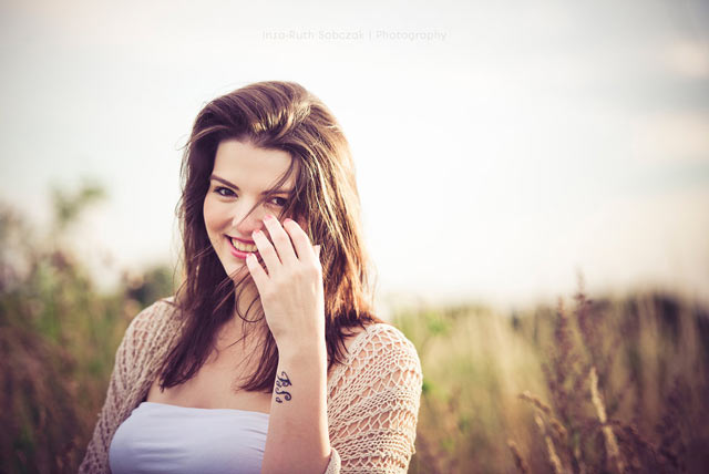 Smiling girl portrait photography