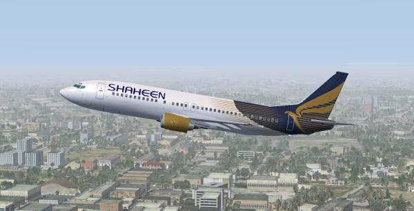 Shaheen Air Lines Flight Lahore, Peshawar, Islamabad to Abu Dhabi Ticket Price & Return