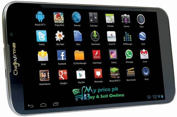 PTCL New Charji EVO LTE Tab with Free Internet Bundle Offers Price and Specs