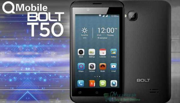 QMobile BOLT T50 Price in Pakistan Full Specifications of Mobile Review Pictures