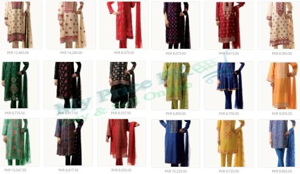 Bareeze Ladies Karandi For Winter 2016 Price In Pakistan New Designs Colors