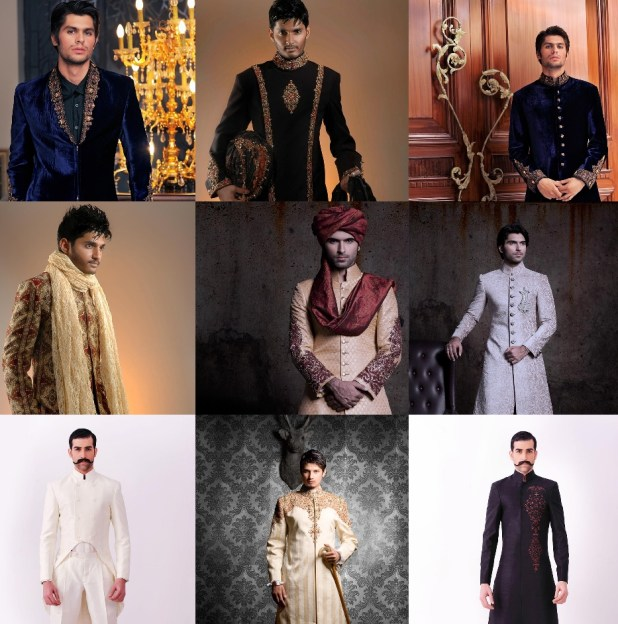 Munib Nawaz Gents Shervani Winter Collection 2016 Price In Pakistan Latest Arrivals Designs