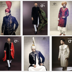 Ahsan Hussain Casual Summer Collections 2016 Gents Designs Colorful Suits Price