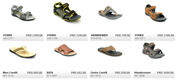 Mens Sandals and Slippers by Bata For Summer Price Image Discount and Promotions