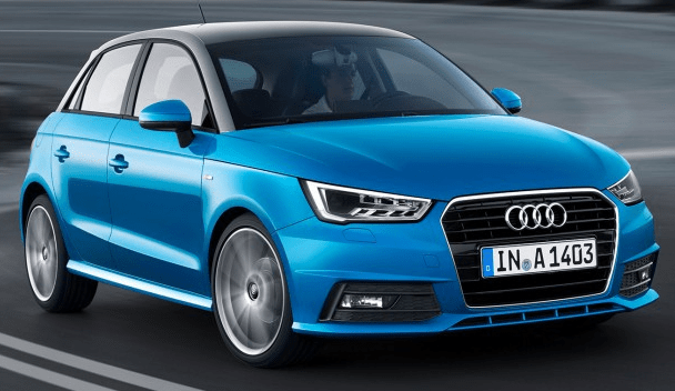Model 2017 of Audi A1 Car Price in Pakistan with New Features and Specs Shape Images