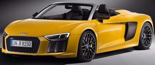 Audi R8 Spyder 2017 Model New Shape Image and Price Specs Features