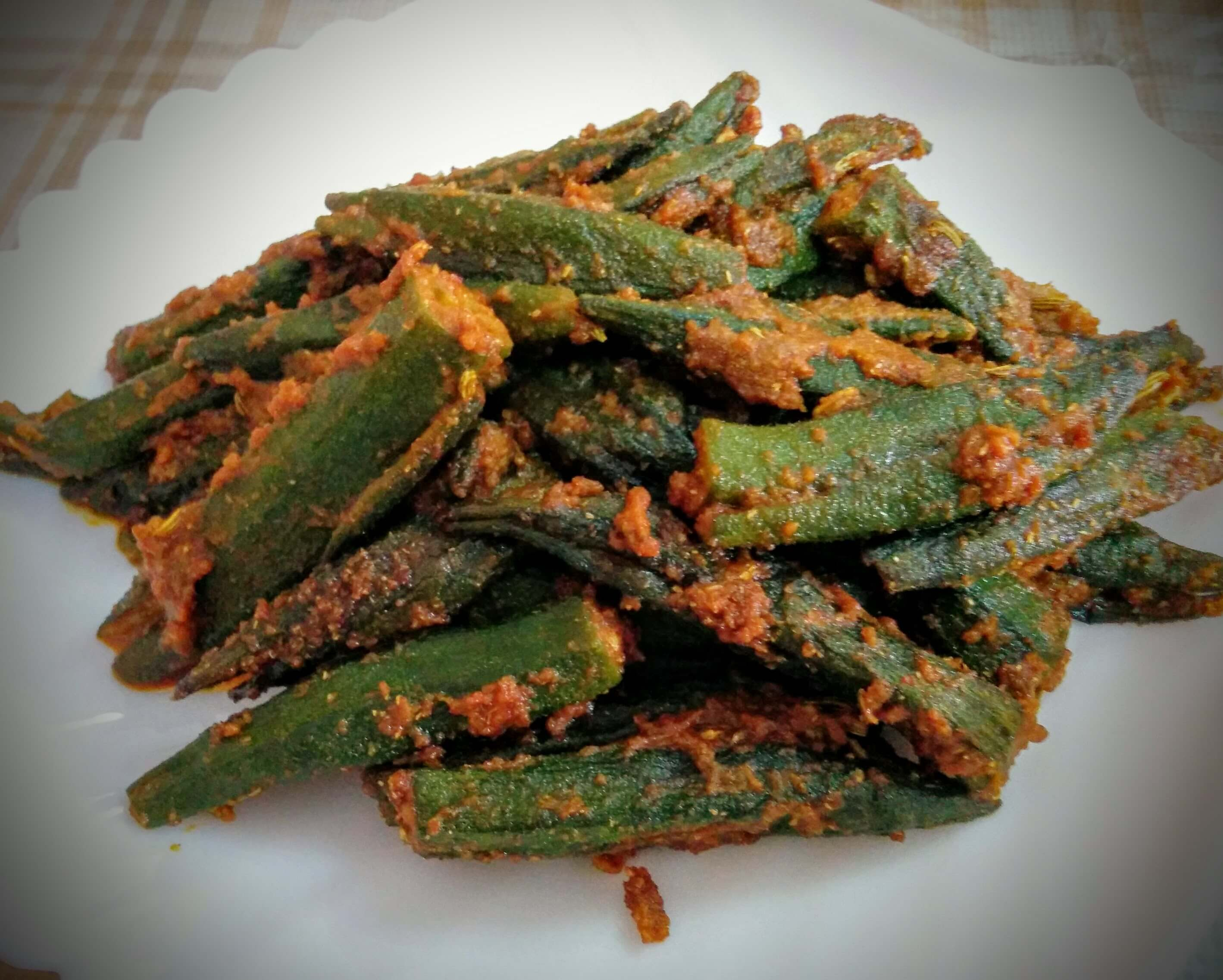 How to Make Stuffed Bhindi Masala