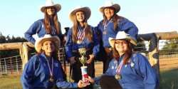 Shadowriders Equestrian Drill Team Completed Ride with Pride
