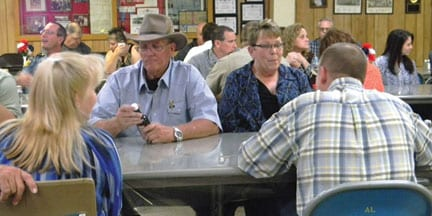 Veteran's Hold Appreciation Dinner for Local Law Enforcement