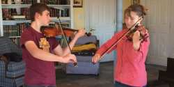 Local Violinists Chosen for Fort Smith Junior Symphony