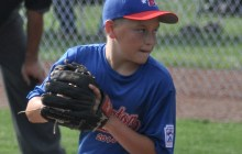 Collin DeGroot prepares to deliver a pitch during the 12U All-Stars' week-long run at regionals in Indianapolis. Burlington finished two games away from the World Series, matching the best run in city history. (Submitted/Standard Press)