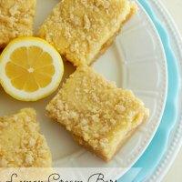 Lemon Cream Bars