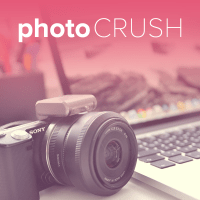Photo Crush with Simple Scrapper