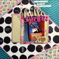 Cover Your Corners with a 6 x 6 Scrapbook Paper Pad